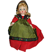 Vintage Madame Alexander Doll Swedish.