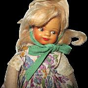 Vintage Felt Doll