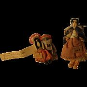 Vintage Small Cloth Dolls