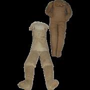 Antique Cloth Doll Bodies