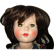 Vintage Human Hair Wig For Your Doll