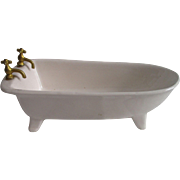 Vintage Porcelain Bath Tub For Your Doll House