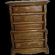 Vintage Doll House Wooden Dresser