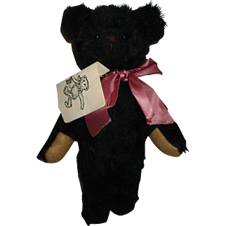 Vintage Artist Jennifer Cooke Handmade 1988 Bear