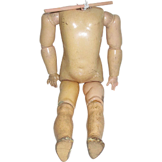 Vintage Composition Doll Body