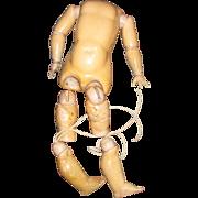 Antique Composition  Handwereck Doll Body