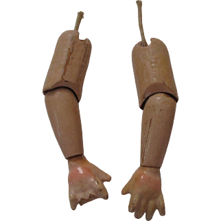 Vintage Composition Doll Arms