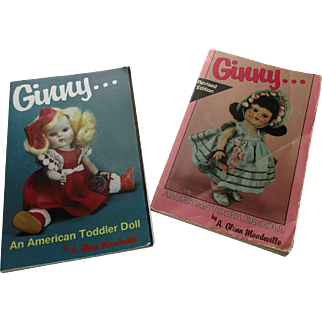 Two Ginny Books An American Toddler Doll