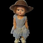 Vintage Hard Plastic England Doll