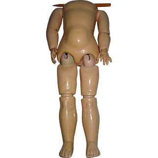 Antique Composition Doll Body