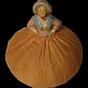 Vintage 1/2 Doll Pin Cushion