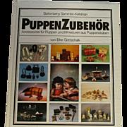 Puppen Zubehor By Von Elke Gottschalk- Book On Mini Doll House Furniture and Accessories.