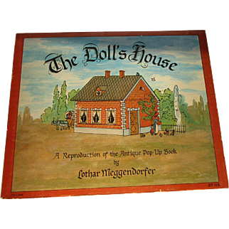 The Doll House Book (pop-up book) By Lothar Meggendorfer