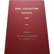 Doll Collectors Manual 1964 The Doll Collectors Of America Inc. Limited Edition