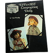 Effanbee Composition Dolls By Jan Foulke