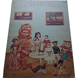 Doll Derby Party The United Federation Of Doll Clubs Inc. 1973