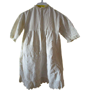 Antique Baby or Doll Cotton Dress