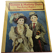 Simon & Halbig Dolls The Artful Aspect Book By Jan Foulke