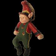 Vintage Artist  Christmas Elf