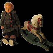 Antique Celluloid Boy Doll