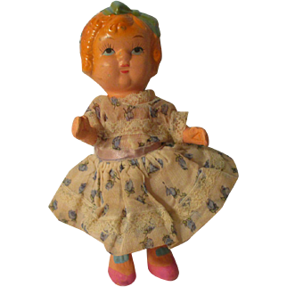 Vintage Bisque Occupied Japan Doll