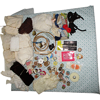 Vintage Sewing items For Your Doll Clothes