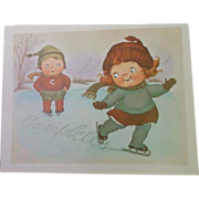Vintage Advertisement Prints with the Campbell's Soup Kids