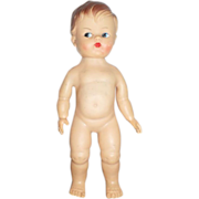 Vintage Rubber Boy Doll
