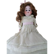 Antique Ernst Heubach Bisque Doll 1902-9/0 Horseshoe Germany Doll