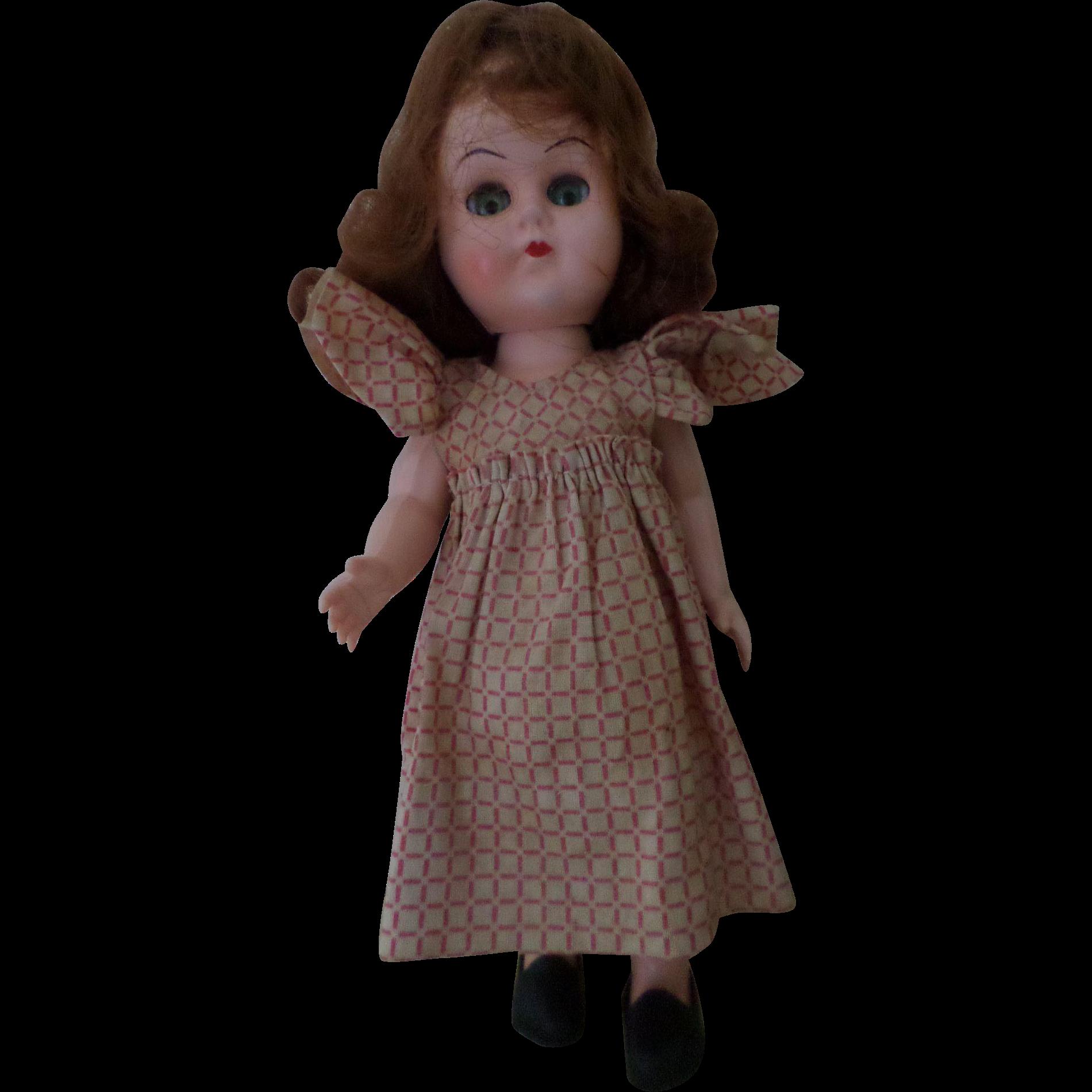 Vintage Walker Doll 58
