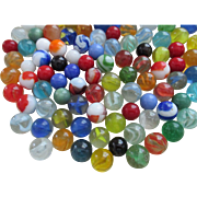 Vintage Glass Marbles - Red Tag Sale Item