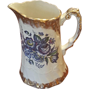 Creamy English Royal Falcon Ware Water Pitcher or Vase