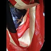 Antique linen 48 Star American Flag