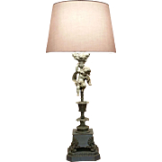French Figural Putti  / Cherub Lamp