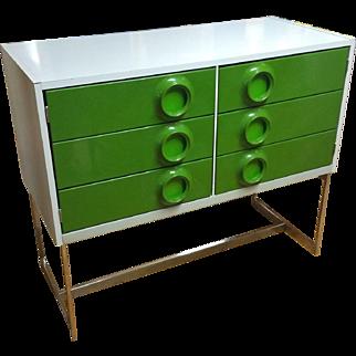 Raymond Loewy style mid century modern cabinet