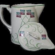 English Arts and Crafts / Art Nouveau  pitcher