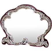 Antique Mirror Sterling Silver Birmingham 1898