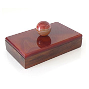 Agate Paper Weight or Ink Blotter 19th C