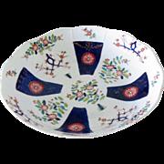 """Herend Porcelain Antique Bowl Dish Platter Vintage Hungarian 12.75"""" 32.5cm"""