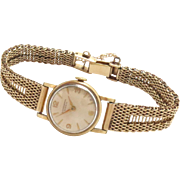 IWC 18k Ladies Watch Yellow Gold 14 K Gold Band Vintage