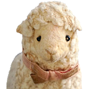 A Lamb Hanging Toy - Steiff, 1902-09