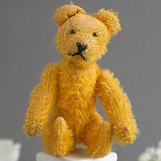A Tiny Teddy Bear, 1920, Eduard Cramer