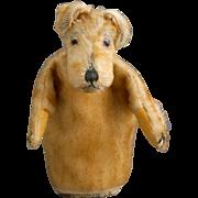 An Airedale Terrier Puppet, W. Weiersmueller, 1930