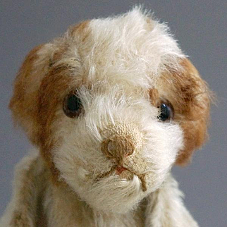 An Adorable Drolly Dog Hand Puppet, 1924