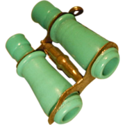 Rare Opera Binoculars  for fashion doll  celluloid