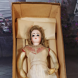 All original Jumeau fashion doll  all original wiht jumeau chemise