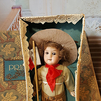 All original ,,BOYS-SCOUT,,doll in original box