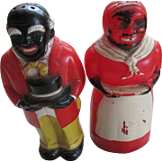 Vintage Aunt Jemima and Moses S&P Shakers