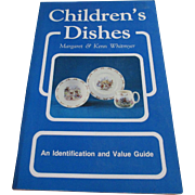 "1980s  ""Children's Dishes"" Identification Book"