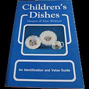 "1980s  ""Children's Dishes"" Identification Book"